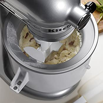 Kitchenaid Kica0wh Ice Cream Maker Attachment - Excludes 7, 8, & Most 6 Quart Models 4