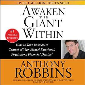 Best Self-Help Audio Books - Awaken the Giant Within - Anthony Robbins