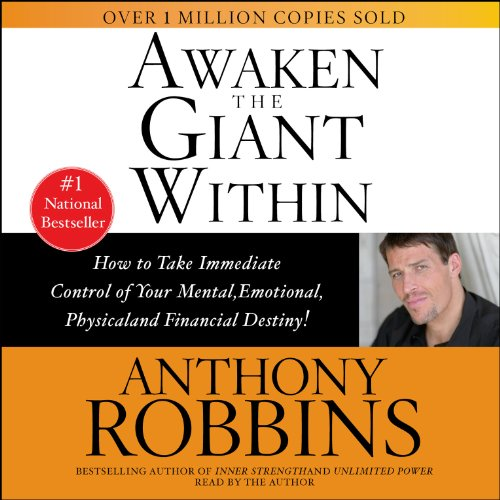 Awaken the Giant Within by Anthony Robbins cover
