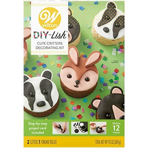 (Wilton DIY-Lish Cute Critters Dessert Decorating Kit)