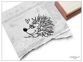 Stempel Tierstempel Motiv Igel Kinderstempel Geschenk Für Kinder Kita Kinderzimmer Schule Einschulung Geburtstag Basteln Herbst Deko Zacher Finet