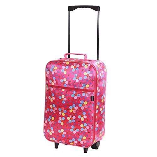 781cebec3247 Slimbridge Barcelona Ultra Light 0.95 kg Travel Carry On Cabin Hand Luggage  Kids Suitcase with 2 Wheels