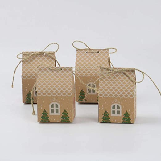Caja de Navidad Saco de Navidad 20 PCS/Set Merry Christmas Candy ...