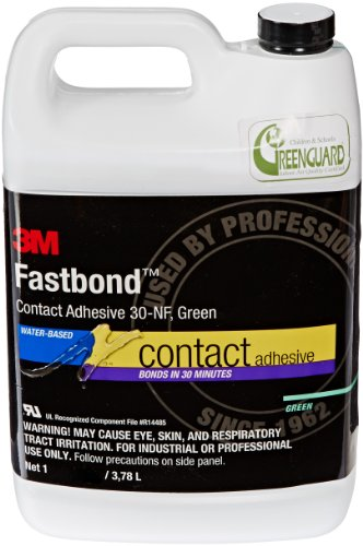 - 3M 21200211867 30NF Green Fastbond Contact Adhesive, 1 Gallon