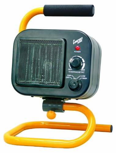 Comfort Zone Fan Forced Portable Shop Heater/Fan