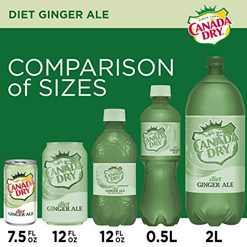 does diet gingerale count as water