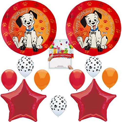 (101 Dalmatians Party Supplies Balloon Happy Birthday Balloon Decoration)