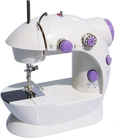 GSKTY Máquina de coser Máquina de coser eléctrica de escritorio multifuncional hogar 19 * 21 *