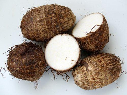 Fresh Taro Root 10 Lbs