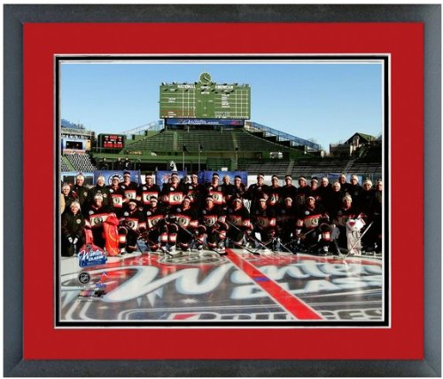Chicago Blackhawks Wrigley Field Photo (Size: 12.5