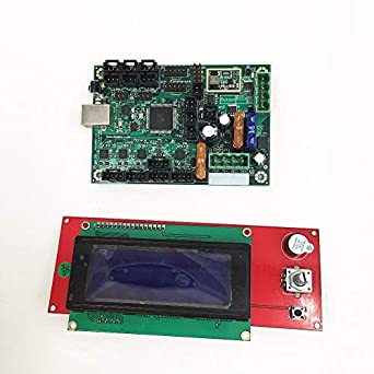 Heasen Clone Ramps 1.4 2004 LCD y Mini-Rambo 1.3a Placa Base para ...