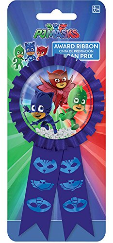 PJ Masks Confetti Pouch Award Ribbon, Party - Mask Confetti