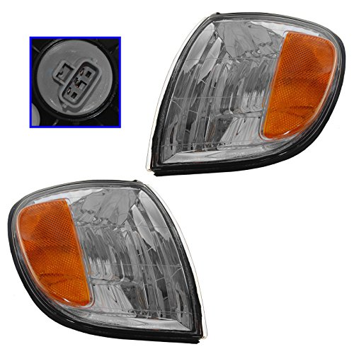 Corner Parking Turn Signal Light Lamp Left & Right Pair Set for Tundra Truck
