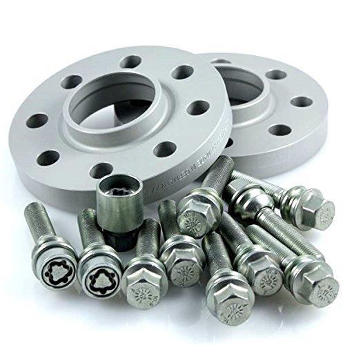 TuningHeads//H/&R .0424562.DK.957160-15.CAYENNE-TYP-9PA ABE Spurverbreiterung 30 mm//Achse 30 mm//Achse Radschrauben Felgenschl/össer