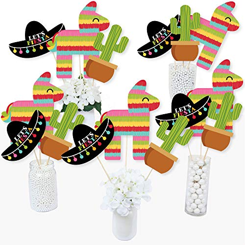 Fiesta Centerpieces - Let's Fiesta - Mexican Fiesta Party