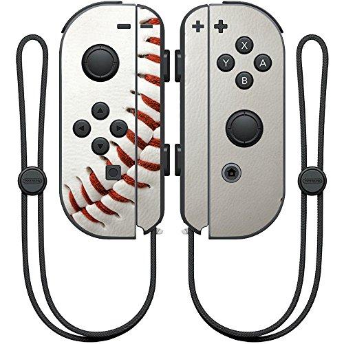 MightySkins Skin Compatible with Nintendo Joy-Con Controller wrap Cover Sticker Skins Baseball