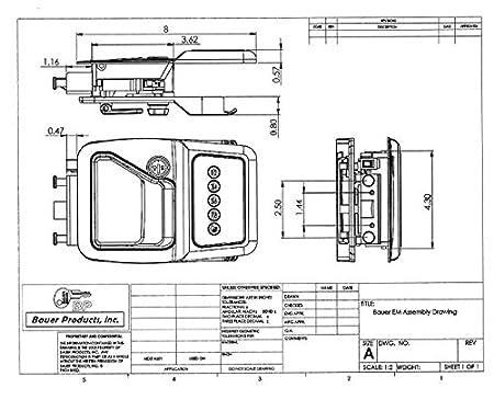trimark keypad wiring diagram