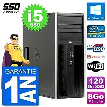 HP PC Tour 8100 Elite - Ordenador de sobremesa (Intel Core i5-650 ...