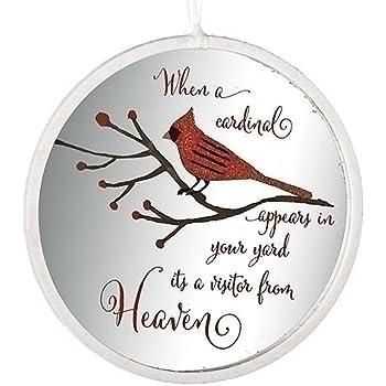 Wonderful Amazon.com: Cardinal Visitor From Heaven Glitter 4.5 Inch Glass  PL81