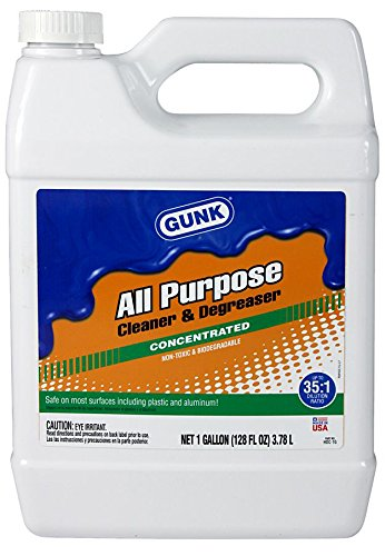 Gunk HDC-1G-4PK All Purpose Cleaner and Degreaser, 1 Gallon, 4 Pack