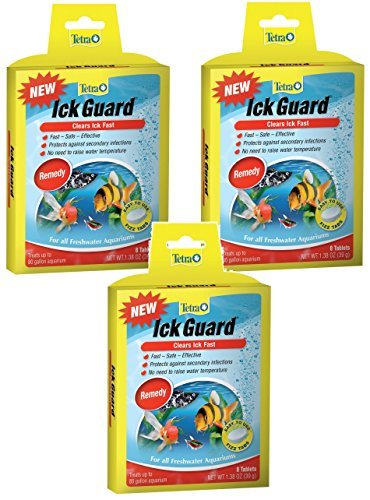 Tetra Ick Guard Tablets - 24 Tablets Total (3 Packs with 8 Tablets per Pack)