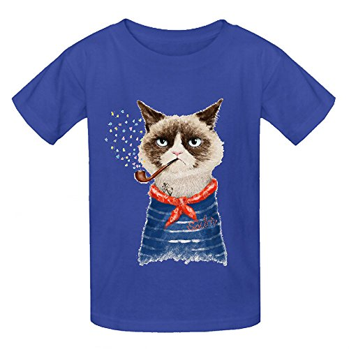 Price comparison product image Snowl Grumpy Sailor Vi Child Crew Neck Personalized T Shirts Blue