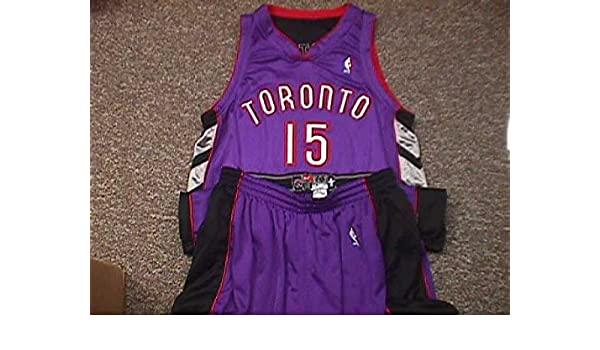 3c66ed53822 Vince Carter. Toronto Raptors 2000-2004 Road Nike Game Jersey at Amazon s  Sports Collectibles Store