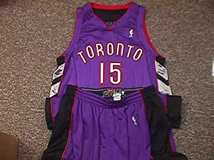 23b59326592 Image Unavailable. Image not available for. Color: Vince Carter. Toronto  Raptors 2000-2004 Road Nike Game Jersey