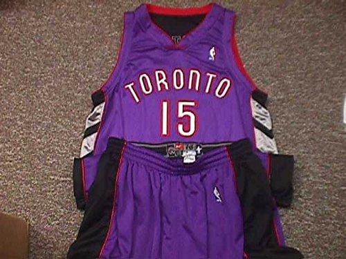 Vince Carter Basketball (Vince Carter. Toronto Raptors 2000-2004 Road Nike Game Jersey)