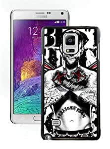 Lovely And Durable Custom Designed Case For Samsung Galaxy Note 4 N910A N910T N910P N910V N910R4 With Wwe Superstars Collection Wwe 2k15 Cm Punk 02 Black Phone Case