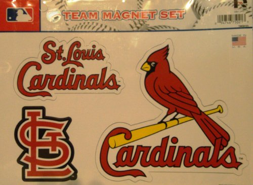 MLB St. Louis Cardinals Team Magnet Set -