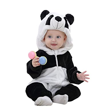 52bddce22 Amazon.com: IDGIRL Baby Costume, Animal Cosplay Pajamas for Boy Winter  Flannel Romper Outfit 2T, Colorful One Piece: Clothing