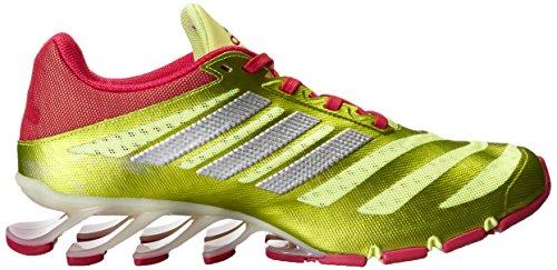 Adidas Performance Kvinner Springblade W Løpesko Frosset Gul / Fet Rosa / Hvit
