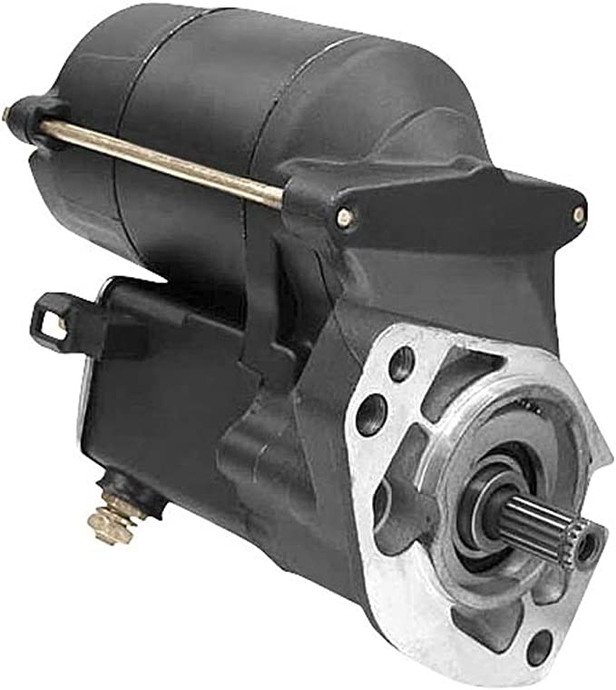 12 Volt 2.0KW //31558-90 CW DB Electrical SHD0009-C Chrome Starter For Harley Davidson 1989-Up 1340CC