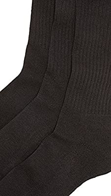 Calvin Klein Underwear Men's 3 Pack Birdseye Multi Pack Crew Socks