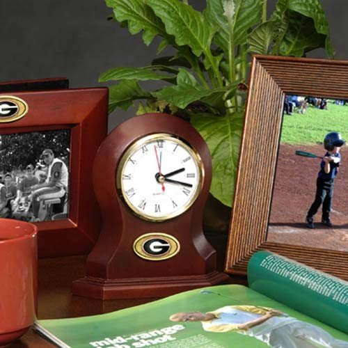 The Memory Company NCAA University of Georgia Official Desk Clock, Multicolor, One Size