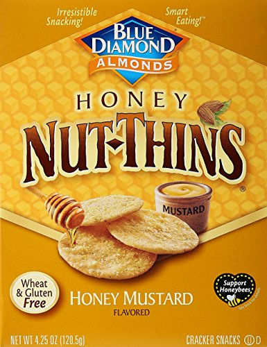 Blue Diamond Almond Nut Thins Cracker Crisps Review