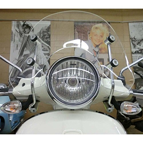 - Prima Windshield (Short, Clear); Vespa Primavera