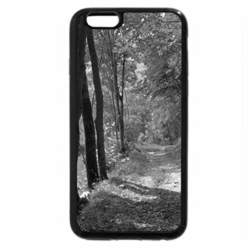 iPhone 6S Plus Case, iPhone 6 Plus Case (Black & White) - Isere River Valley, France