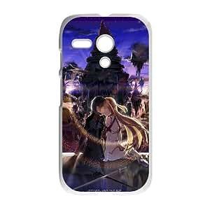Asuna And Kirito Sword Art Online Anime Motorola G Cell Phone Case White TPU Phone Case SV_240895
