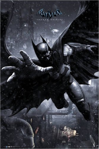 Póster Batman Origins - Batman Swing - cartel económico ...