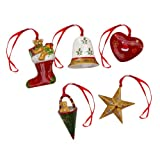 Villeroy & Boch Nostalgic Ornaments Christmas Set Of 5