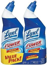 Lysol Power Toilet Bowl Cleaner, 24oz, 12 Bottles (6 Value Packs of 2)