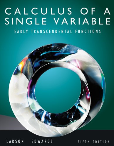Bundle: Calculus of a Single Variable: Early Transcendental Functions, 5th + Student Solutions Manual, Vol. 1