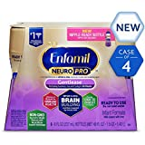 Enfamil NeuroPro Gentlease Infant Formula - Clinically Proven to reduce fussiness, gas, crying in 24 hours - Ready to Use Liquid, 8 fl oz (24 count) Packaging May Vary