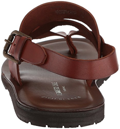 Kenneth Cole New York Mens Rulle-ist Flat Sandal Cognac