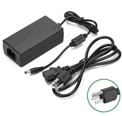 MINGER Power Supply 24V 6A Power Adapter Transformer for 5050 3528 5630 Flexible RGB LED Strip Lights, Tape Lights