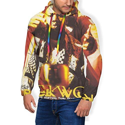 Jamie Sinclair Raekwon Only Built 4 Cuban Linx Men Hooded Fleece Sweatshirt Black 3XL