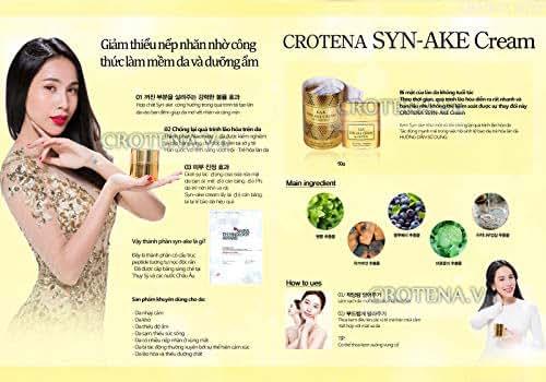 01 Box - Crotena Syn-Ake night anti-aging cream - Kem Chong Lao Hoa Ban Dem Crotena Syn-Ake