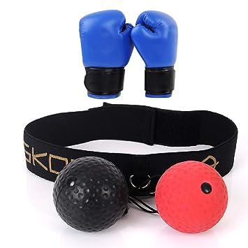 Pelota para Entrenamiento de Reflejos/Reflejo de Boxeo Ball/Pelota ...